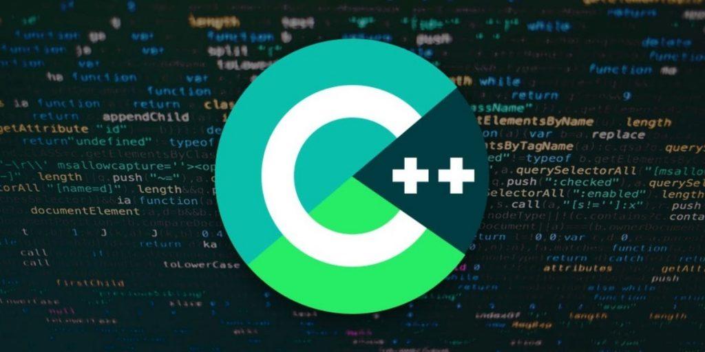 c++ icon over code